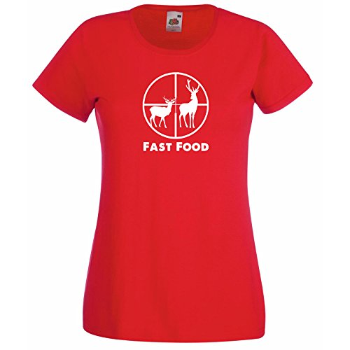 Of Loom Avec Hunt Silhouette Cerfs En Food The Gratuit Fast T Chemise Modèle Rouge Au Scoope Hasard Chasse shirt Premium Fruit Femmes Chevreuil Cadeau Et Citation Super Décalque wRRf7q