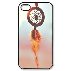 Sunrise Dream Catcher Custom Cover Case for Iphone 4,4S,diy phone case ygtg535356