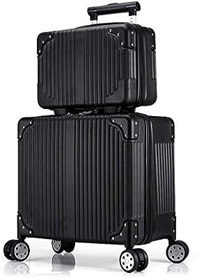 La maleta Trolley de Equipaje de Alta Capacidad Traje de Dos ...