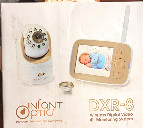 Infant Optics DXR-8 Video Baby Monitor with Interchangeable Optical Lens (White) (Infant Camera Monitor Optics Baby)