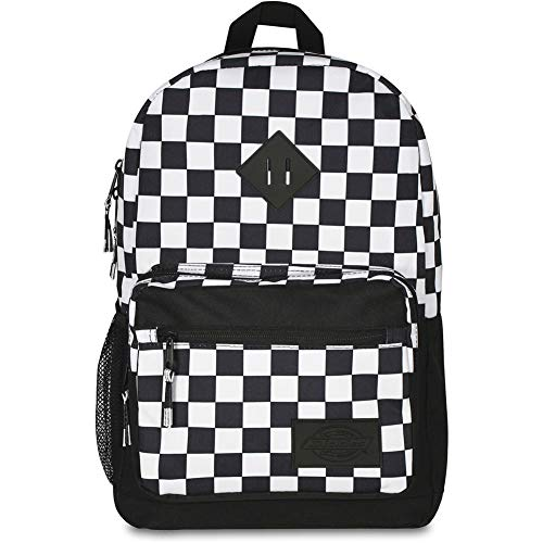 Dickies Study Hall Backpack, BLK/White Checker, One Size