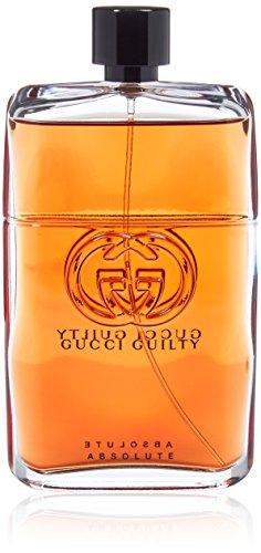 Gucci Guilty Absolute Eau de Parfum Spray for Men, 5 Fluid Ounce (Parfum For Gucci Man)