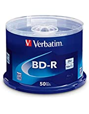 Verbatim BD-R 25GB 6X with Surface - 50pk Spindle 98397