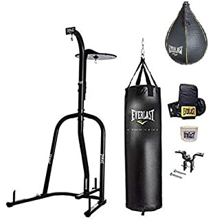 0c6528688b3 Amazon.com   Everlast Heavy Bag Stand - Complete Set   Sports   Outdoors