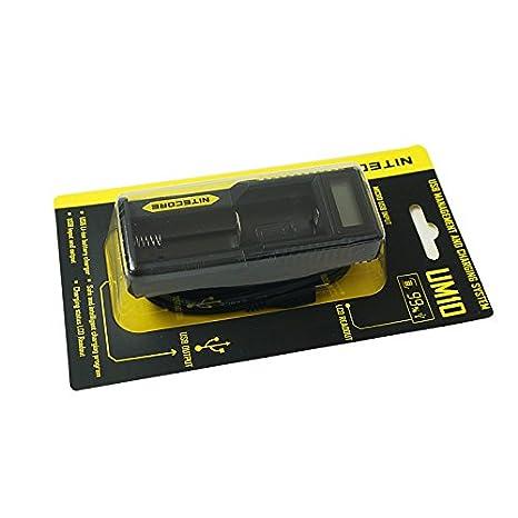 NITECORE USB cargador Single Bay Charger UM10 para baterías ...