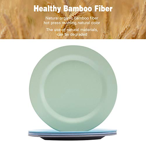 Bamboo Toddler Plates (8