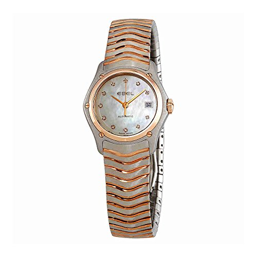 Ebel Classic Automatic Diamond White Dial Ladies Watch 1215927