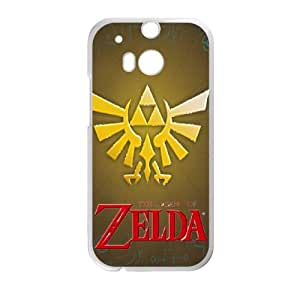 The Legend of Zelda HTC One M8 Cell Phone Case White wtzr