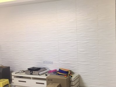 3D PE Foam D.I.Y Thick Wall Sticker Peel and Self Adhesive Wallpaper Mural , Padded Wall Panel