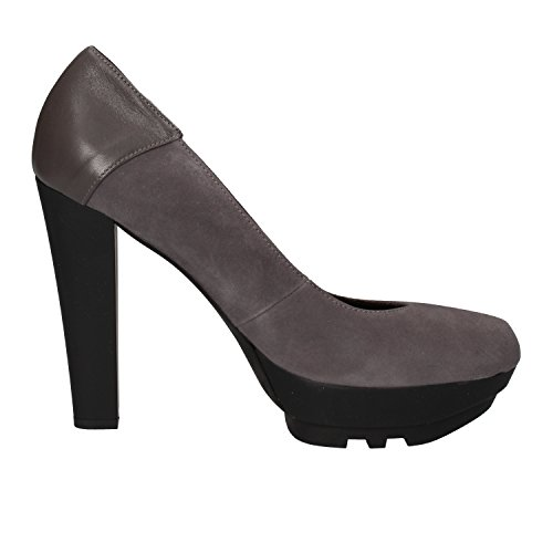 11 Gray Suede PACIOTTI AE461 EU Women's US 4US 41 Pumps Leather CESARE FBwqAfB