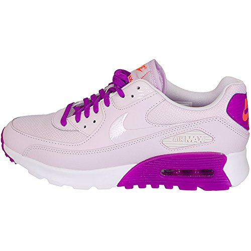 Nike Women's W Air Max 90 Ultra Essential Running Shoes, Red blanco - white