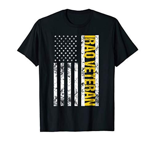 American Flag Iraq Veteran T-Shirt Vintage Veterans Of Iraq
