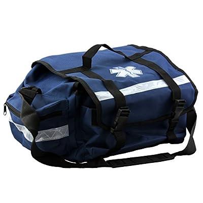 "Primacare KB-RO74-B Trauma Bag, 7"" Height x 17"" Width x 9"" Depth, Blue by Primacare"