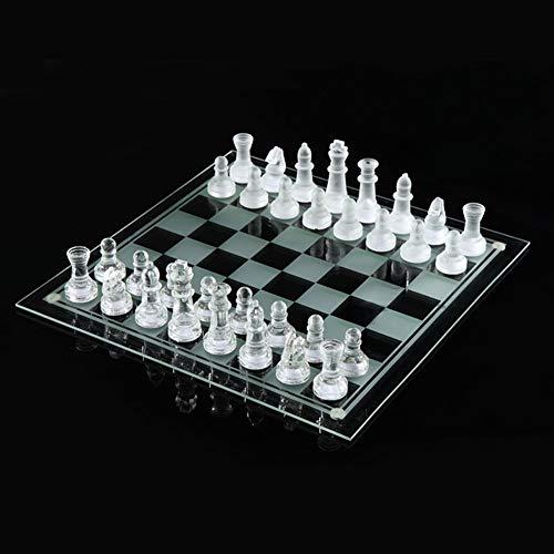 ZANGAO 25 * 25 cm de ajedrez de Cristal K9 Medio Lucha de empaquetado Juego de ajedrez Internacional Internacional…