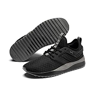 PUMA Pacer Next EXCEL Sneaker, Black-Charcoal Gray, 12 M US
