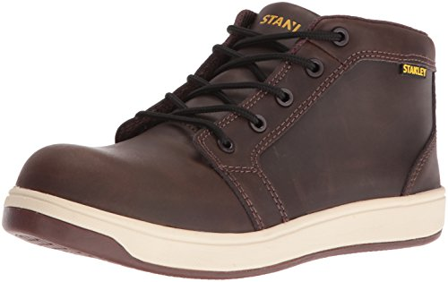 Electrical Hazard Safety Shoes (Stanley Men's Finisher Comp Toe Skate Shoe, Brown, 11 D US)