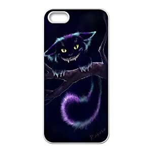 Cheshire Cat pcrple For SamSung Galaxy S7 Phone Case Cover Fashion Case White