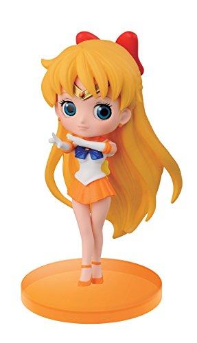 Banpresto Sailor Moon 2.8-Inch Sailor Venus Figure, Q Posket Petit Volume 2