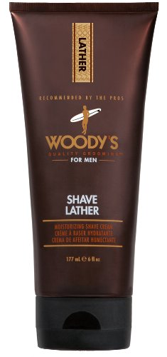 Woody's For Men Shave Lather Moisturizing Cream 177ml WDY90571