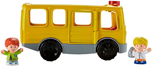 41dFJA9ZHlL - Fisher-Price Little People Sit with Me School Bus Vehicle