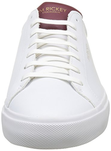 Jim Rickey Herren Chop High-Top Blanc (White/Bordeaux)