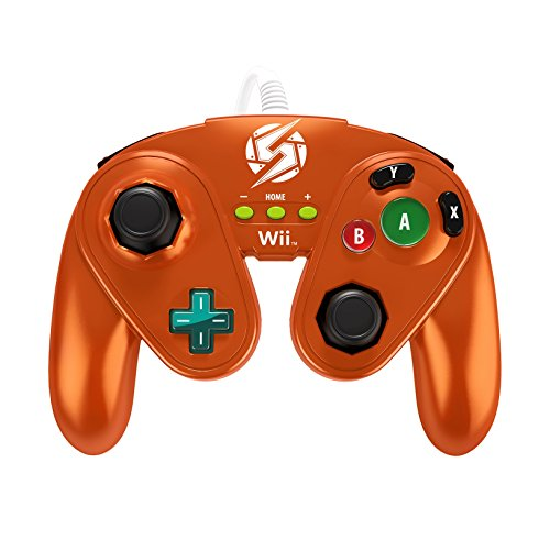 PDP Wired Fight Pad for Wii U - Samus (Wii U Games That Require Motion Plus)