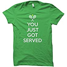 Gifted Gear Tennis You Just Got Served DryBlend 50/50 Adult T-Shirt