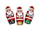 Christmas Mini Santa's Solid Milk Chocolate (1 Lb - 55 Pcs)