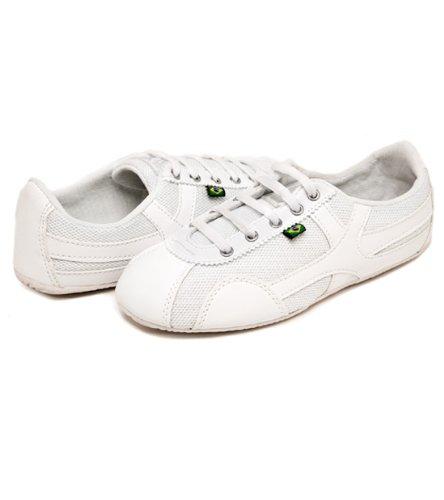 Chaussures Inspirées Par La Danse De La Semelle De Rio Femelle - Blanc