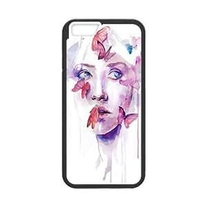 "DIY Phone Case for Iphone6 4.7"", Art Design Of Girl Cover Case - HL-R674366"