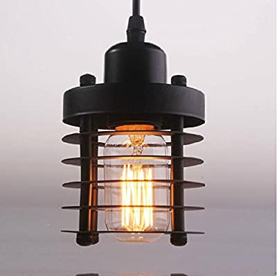 Electro_BP;Vintage Metal Shade Industrial Pendant Light Max 60W With 1 Light Painted Finish