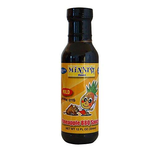 MINATOS Pineapple BBQ Sauce Mild, 12 OZ