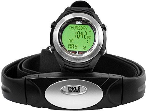 Smart Rate Monitor Sports Wrist Activity Exercise Running HR Chest Belt USB Link, Pedometer, Backlight, Alarm, Women