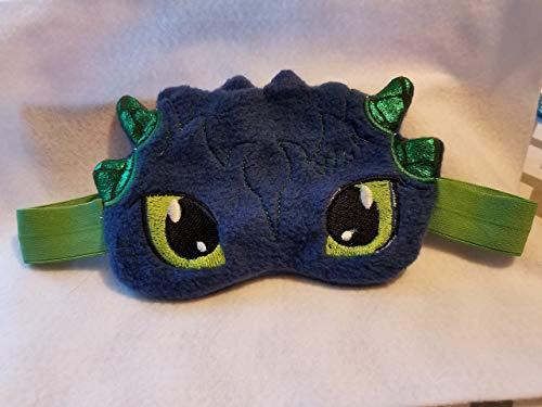 - Dragon Embroidered Sleep Mask