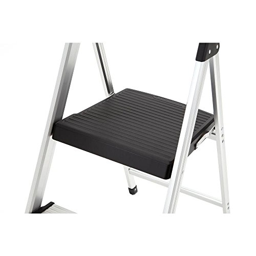 2-Step Aluminum Ultra-Light Step Stool Ladder with Project Tray Top and 225 lb. Capacity, ANSI Type 2 Duty Rating by Gorilla Ladders (Image #4)