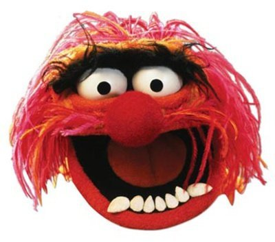 Muppets Animal Costume (The Muppets Party - Animal Face Mask)