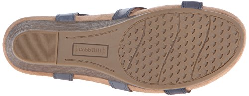 Sandal Hill CH Wedge Rockport Women's Blue Harper Cobb Zq6Ozz