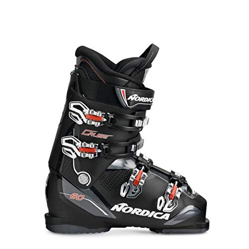 Nordica Cruise 60 Ski Boots 2019-28.5/Black-Anthracite-Red