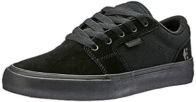 etnies Men's Barge LS Lifestyle Skate Shoes, Black/Black/Black, 6 US