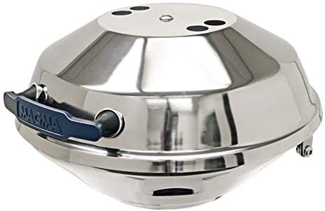 Magma Products Marine Kettle, Charcoal Grill w Hinged Lid