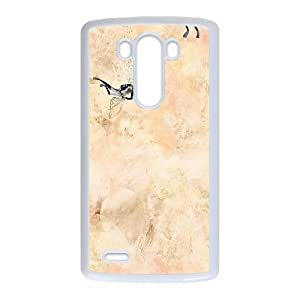 LG G3 Cell Phone Case White ac79 ben cain art white water sea H4L1WY