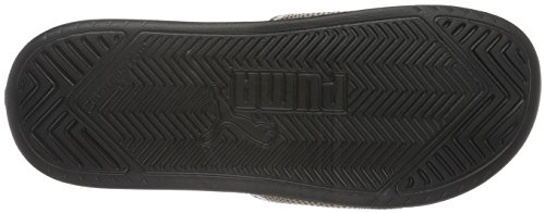 et puma Noir Plage de Puma Femme Chaussures Piscine 01 Puma Black Fif Black Mehrfarbig Popcat gold 44qw7pX