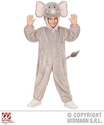 WIDMANN 98104 ? Disfraz para niños Elefante de Peluche, Mono con ...