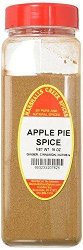 Marshalls Creek Spices X-Large Seasonings, Apple Pie Spice, 16 Ounce - Fresh Apple 16 Oz Jar