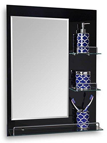 Danya B Oslo 24 X 315 Vanity Bathroom Mirror With Shelves