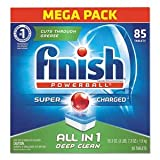 FINISH Powerball Dishwasher Tabs, Fresh