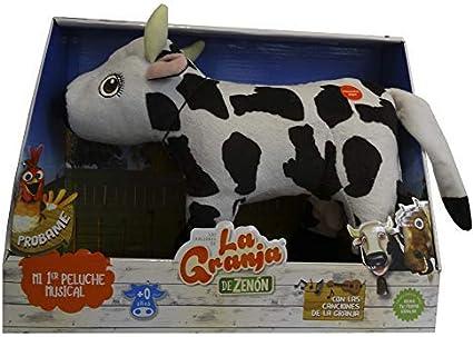 La Granja de Zenón - Peluche DX Musical Vaca Lola (Bandai, 80003 ...