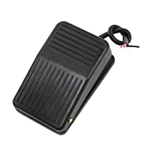 SODIAL(R) 220V 10A SPDT Nonslip plastic Momentary Electric Power Foot Pedal Switch
