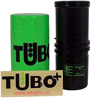 TUBOPLUS–Tube à air comprimé pour balles de Padel et de Tennis, Vert Fluo
