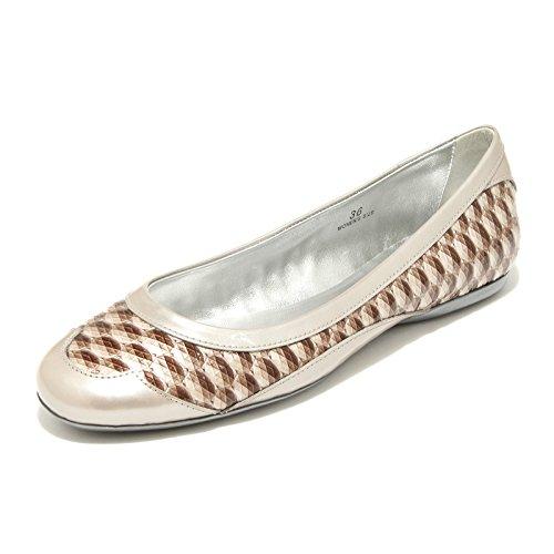 19066 ballerine donna HOGAN BY KARL LAGERFELD ballerina scarpe scarpa shoes women BEIGE/MARRONE